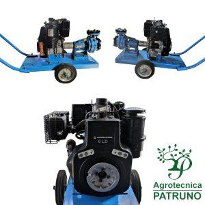 Motopompa diesel motore Lombardini 8 HP