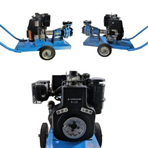 Motopompa diesel Lombardini